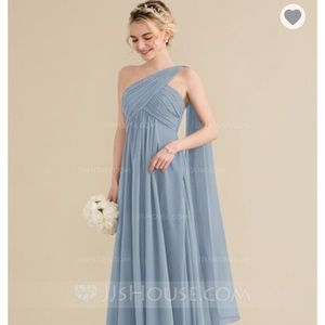 JJ's House Dusty Blue Bridesmaid Dress - NWT